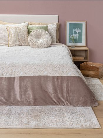 Πάπλωμα Σετ Manterol Casa 235X260 Comforter Doko 037 Beige
