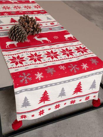 Ράνερ Τραπεζιού Symmetry Living 40X160 Reindeer