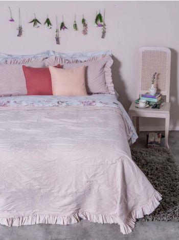 Παπλωματοθήκη Symmetry Living 230X250 Υπέρδιπλη Roses Pink