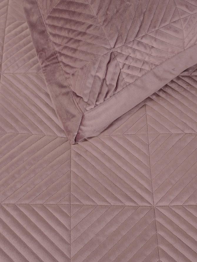 Κουβερλί Luxury Triangle Pink