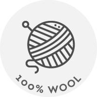 100% Μαλλί