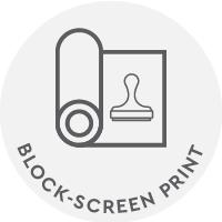 Block Screen Print
